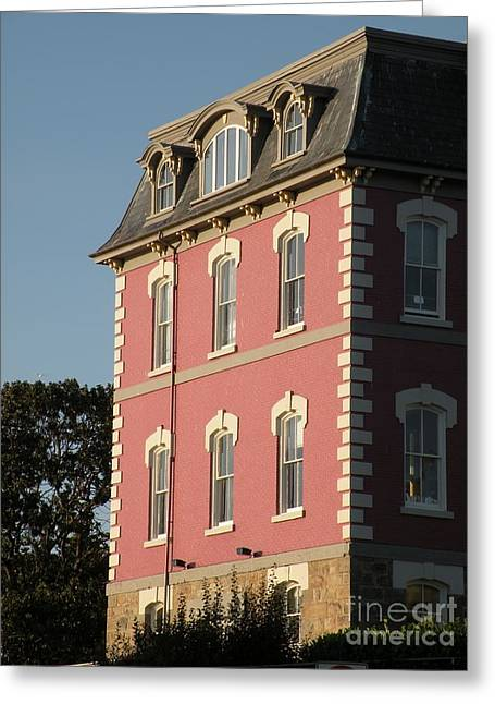 Customs House Greeting Card by Val Carosella