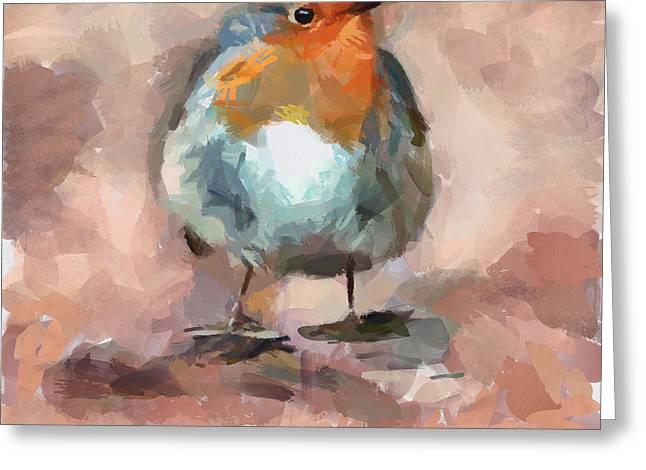Cute Bird 2 Greeting Card by Yury Malkov