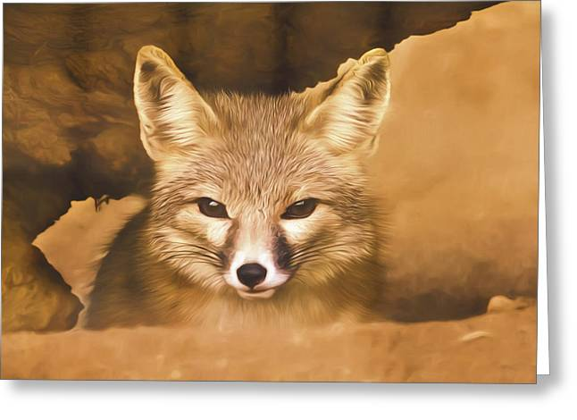 Cute Fox  Greeting Card