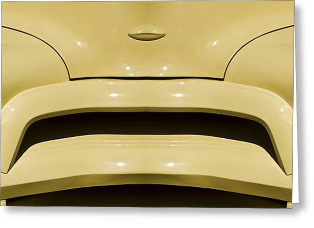 Cute Little Car Faces Number 9 Greeting Card