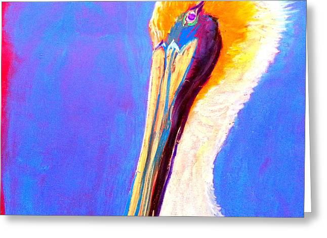 Cute Pelican Greeting Card