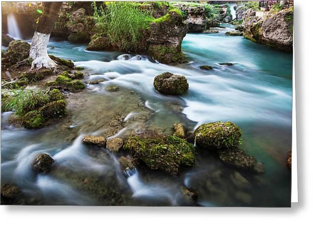 Cydnus River Flowing Through Tarsus Greeting Card