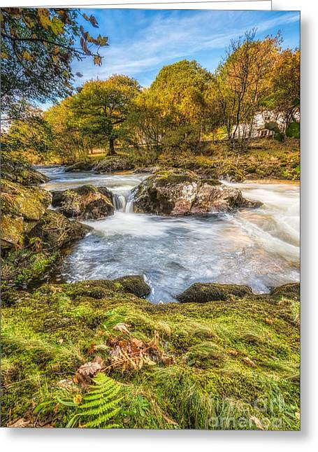 Cyfyng Falls Greeting Card