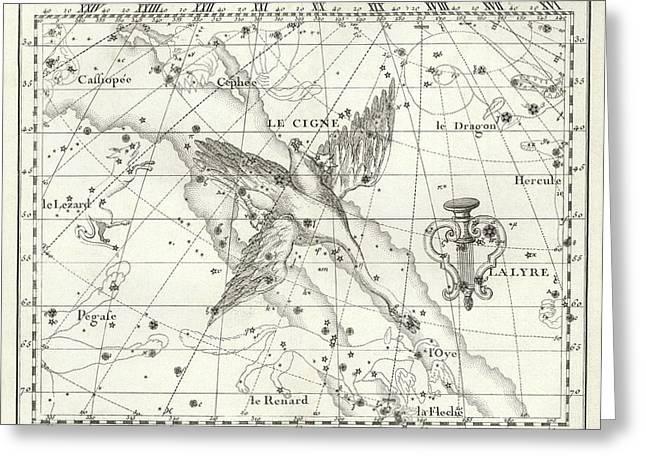 Cygnus Constellation Greeting Card by Us Navy