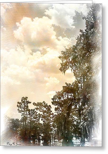 Swamp - Louisiana - Cypress Heaven Greeting Card by Barry Jones