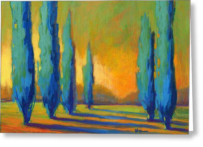 Cypress Road 5 Greeting Card
