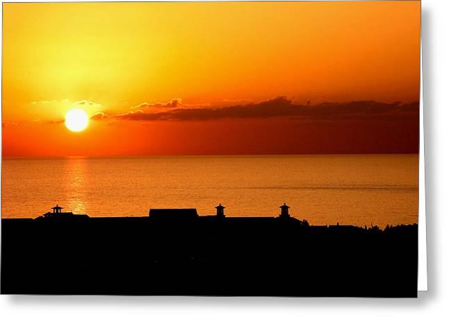 Cyprus Sunset Greeting Card