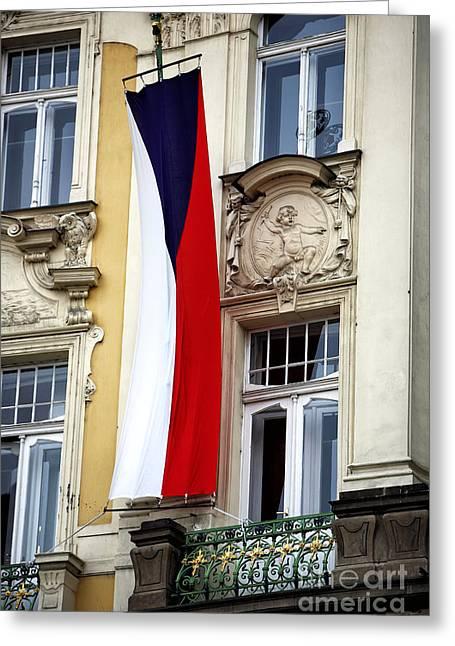 Czech Pride Greeting Card