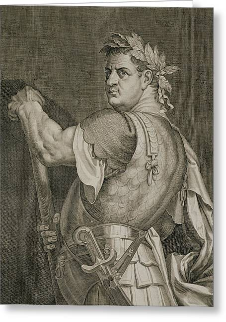 D. Titus Vespasian Emperor Of Rome Greeting Card