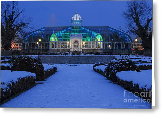 D5l-280 Franklin Park Conservatory Greeting Card