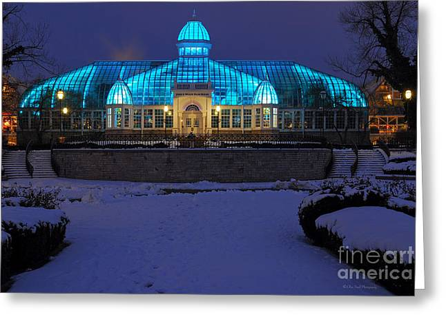 D5l-291 Franklin Park Conservatory Photo Greeting Card
