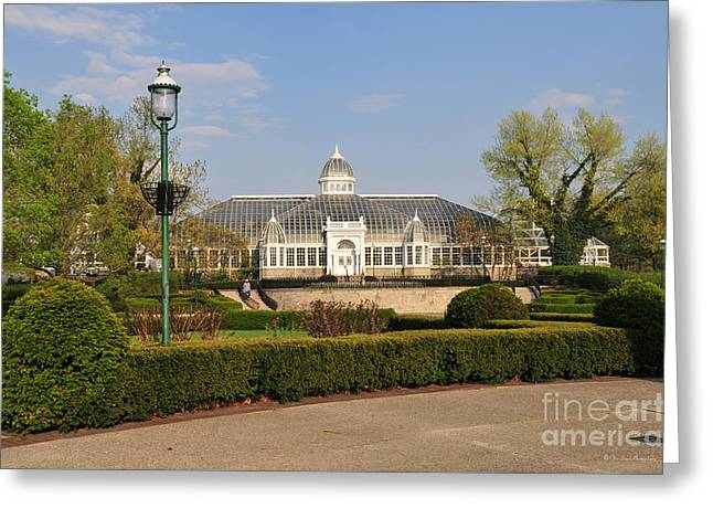 D5l311 Franklin Park Conservatory Greeting Card