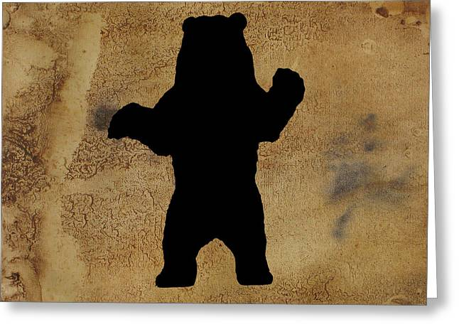 Da Bear Greeting Card
