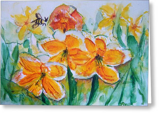 Daffies Greeting Card