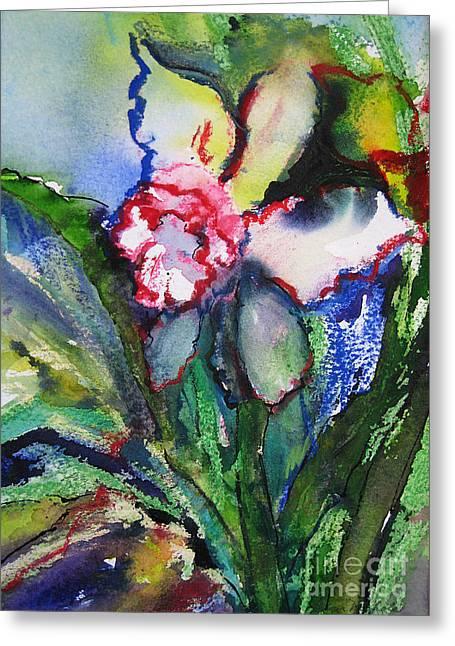 Daffodil 6 Greeting Card by Gwen Nichols