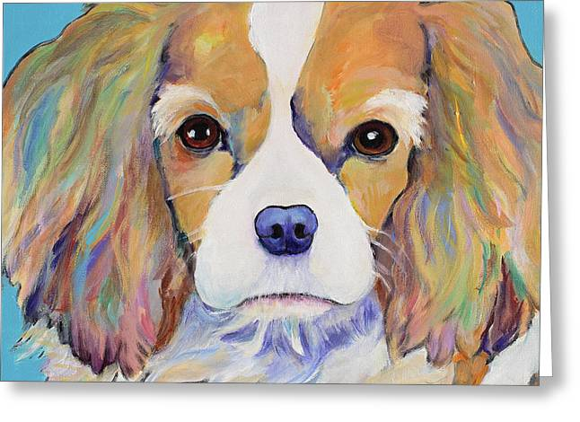 Dagney Greeting Card by Pat Saunders-White