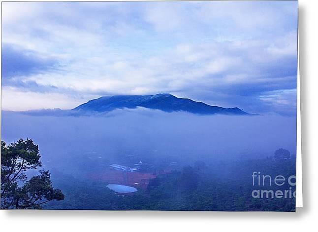 Dai Binh Mountain Dew Spread Greeting Card