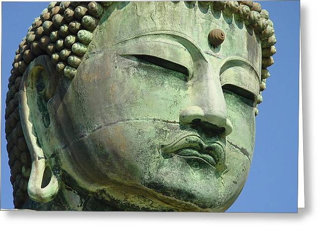 Daibutsu 1 Greeting Card by Larry Knipfing