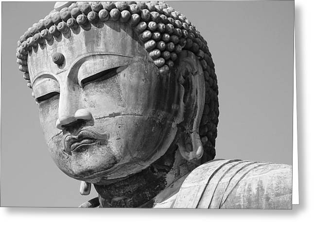 Daibutsu 2 Greeting Card by Larry Knipfing