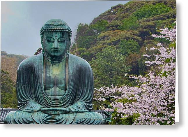 Daibutsu Buddha Greeting Card
