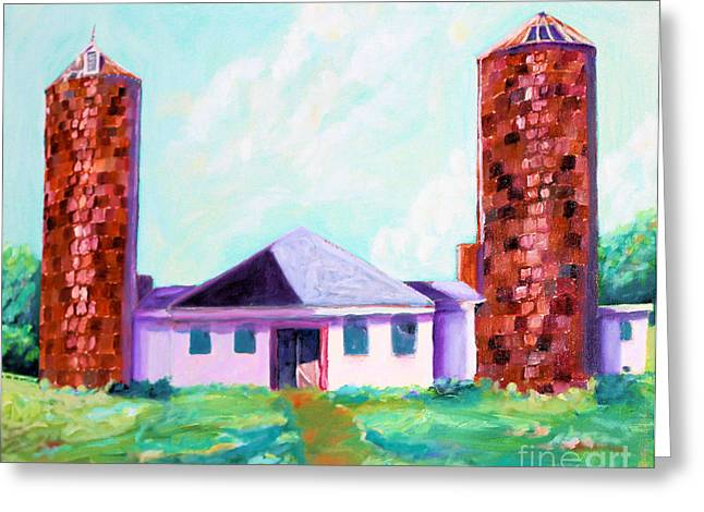 Dairy Barn Greeting Card by Todd Bandy