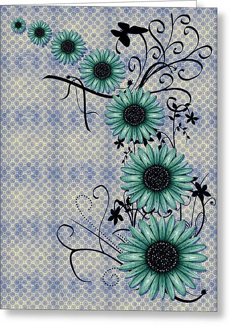 Daisies Design - S01-29c Greeting Card