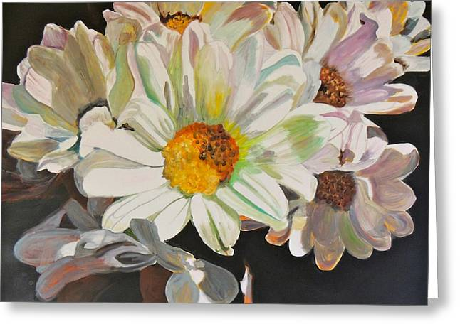 Daisies Greeting Card by Jgyoungmd Aka John G Young MD
