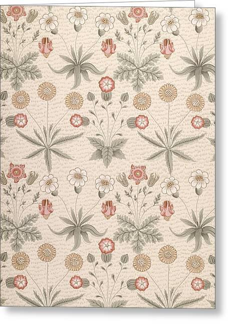 Daisy, First William Morris Design Greeting Card