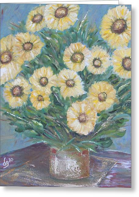 Daisy Burst Greeting Card