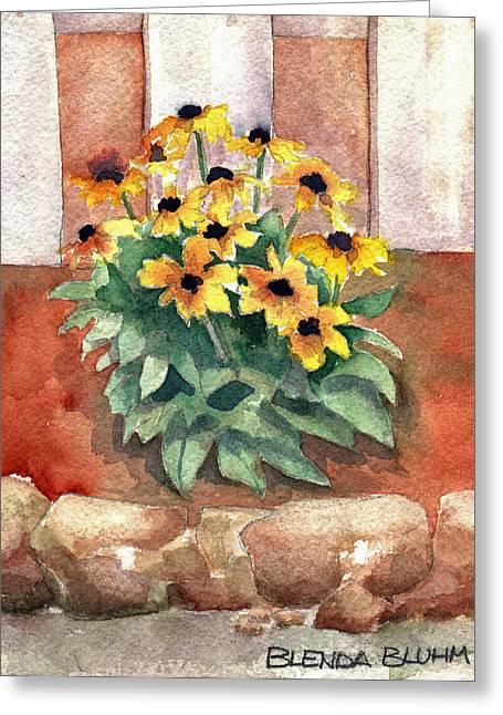 Daisy Flower Garden Greeting Card