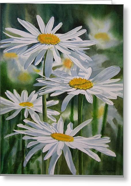 Daisy Garden Greeting Card