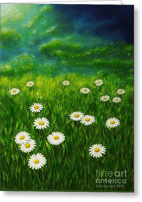 Daisy Meadow Greeting Card