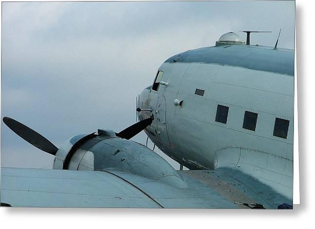 Dakota C-47 Greeting Card by Philip Rispin