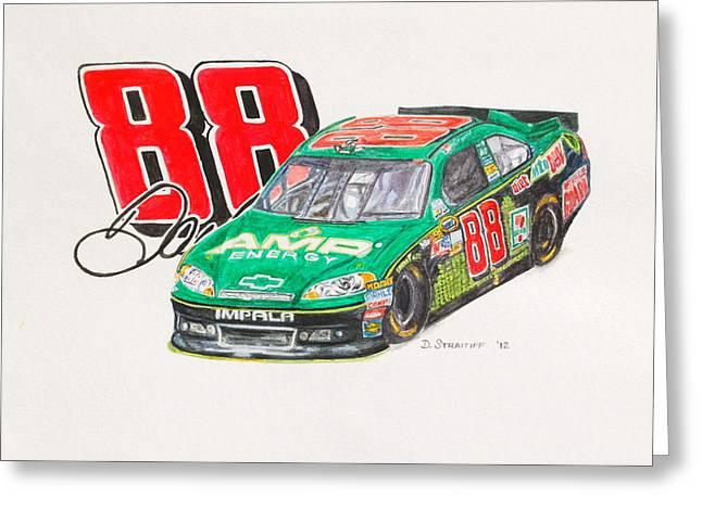 Dale Earnhardt Jr. #88 Amp Greeting Card