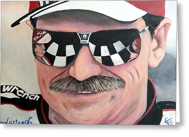 Dale Earnhardt Sr Greeting Card