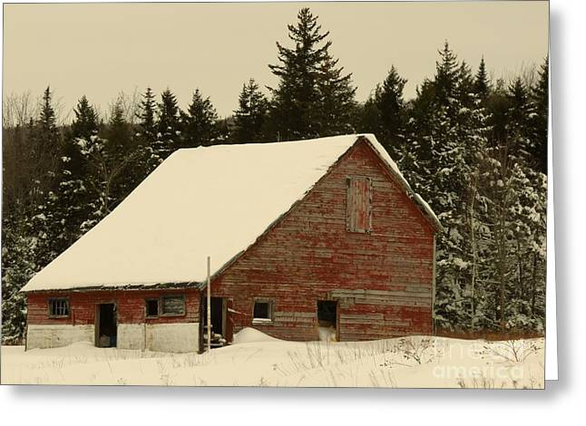 Dale Lane Barn Greeting Card