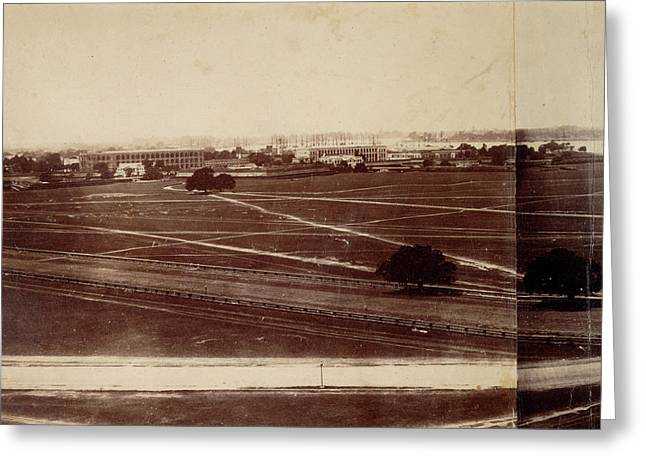 Dalhousie Barracks And Fort William Greeting Card
