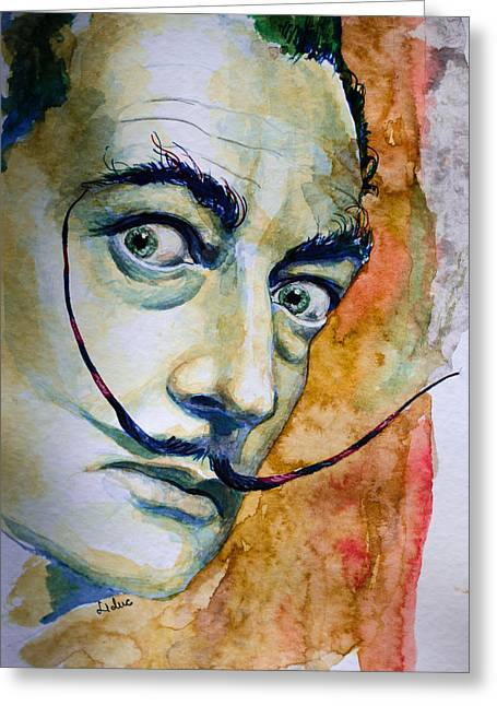 Dali Greeting Card