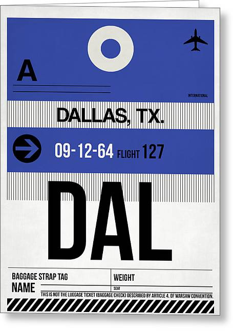 Dallas Airport Poster 1 Greeting Card