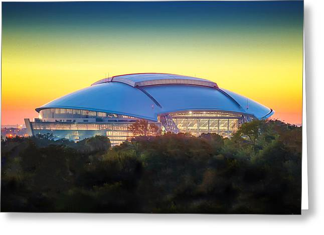 Home Of The Dallas Cowboys Greeting Card