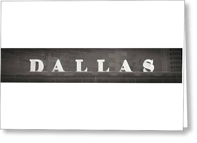 Dallas Greeting Card by Darryl Dalton