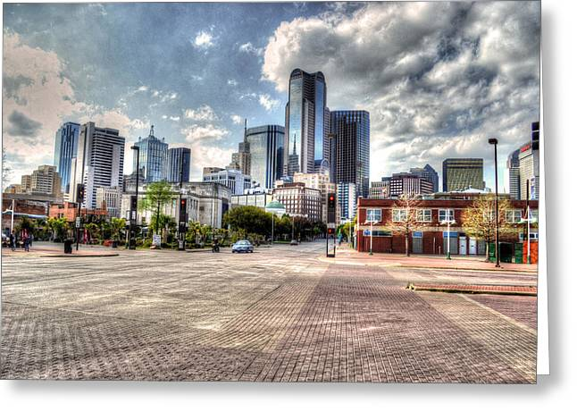 Dallas Near Farmers Market Greeting Card