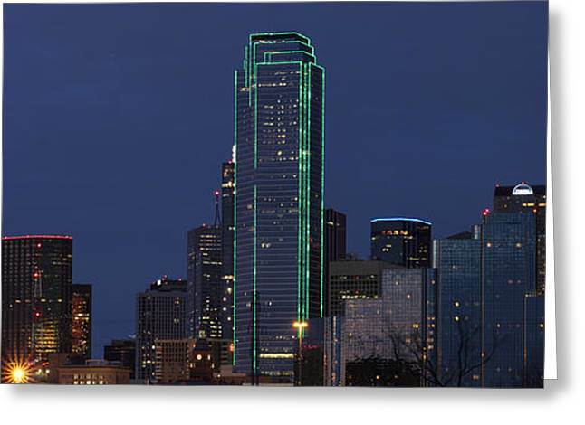 Dallas Skyline Greeting Card
