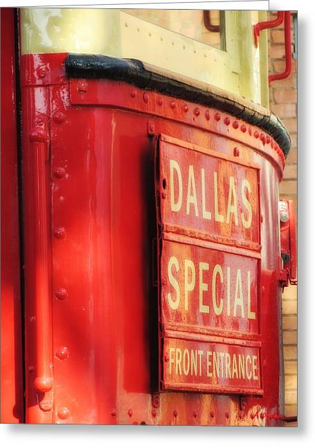 Dallas Special Front Entrance Greeting Card