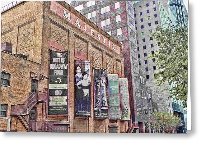 Dallas Texas Majestic Theater Greeting Card