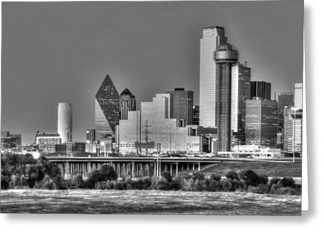 Dallas The New Gotham City  Greeting Card by Jonathan Davison