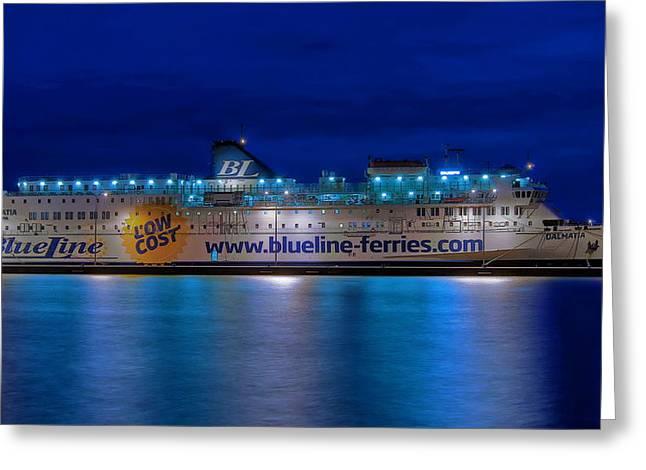 Dalmatia Greeting Card by Ships in Split