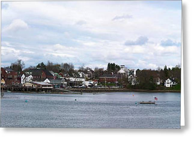 Damariscotta  Greeting Card by Guy Whiteley