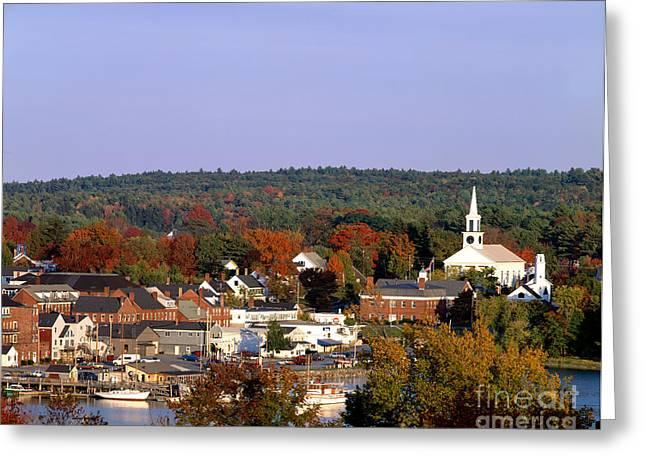 Damariscotta, Maine Greeting Card