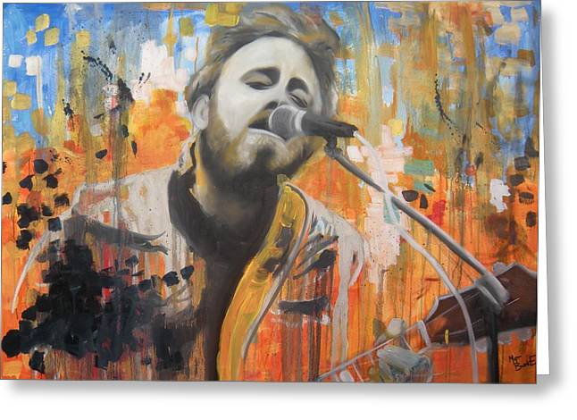 Dan Auerbach Greeting Card